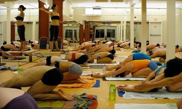 Bikram Yoga Victoria - Harris Green: $34 for One Month of Unlimited Hot Yoga at Bikram Yoga Victoria ($178.08 Value)