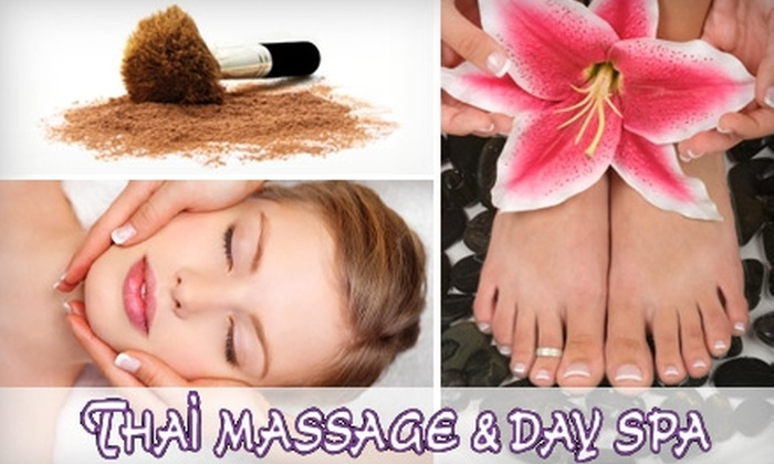 "Thai Massage & Day Spa - Great Uptown: $89 for a Three-Hour ""Pamper Me"" Package at Thai Massage and Day Spa Chimney Rock"