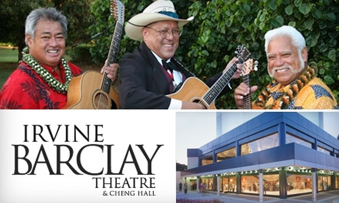George Kahumoku & Masters of Hawaiian Music - University of California, Irvine: $35 for Two Floor Tickets to George Kahumoku & Masters of Hawaiian Music at the Irvine Barclay Theatre (Up to $70 Value)