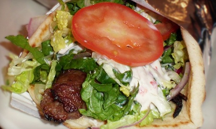 Habibi Mediterranean & Greek Restaurant - Bryn Mawr-Skyway: $10 for Two Groupons, Each Good for $10 Worth of Food at Habibi Mediterranean & Greek Restaurant ($20 Total Value)