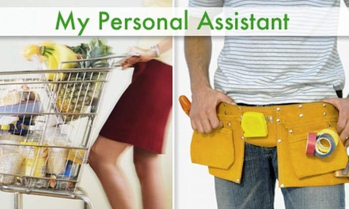 My Personal Assistant - Dallas: $32 for Two Hours of Personal Assistance from My Personal Assistant ($80 Value)