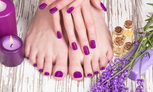 Chelsea and Sparrow: Gel Manicure ($25) With Pedicure ($39) at Chelsea and Sparrow (Up to $120 Value)
