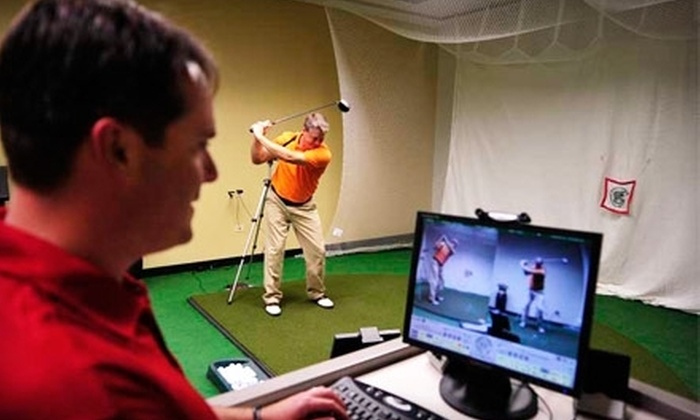 GolfTEC - Clive: $50 for 60-Minute Swing Evaluation Session ($165 Value) at GolfTEC
