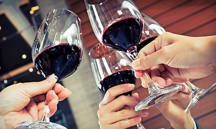 Left Coast Wine Bar & Gallery - City Center: Wine and Beer at Left Coast Wine Bar & Gallery (Half Off). Two Options Available.