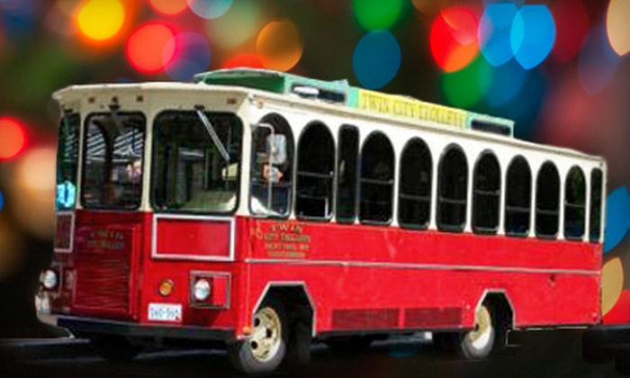 Twin City Trolleys - Concord-Robert: Two-Hour Holiday-Light Tour or Three-Hour Trolley Rental from Twin City Trolleys (Up to 51% Off)
