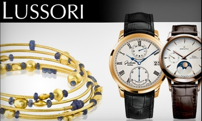 Lussori - North Los Altos: $200 for $500 Worth of Luxury Jewelry, Timepieces, Accessories, and More at Lussori in Los Altos