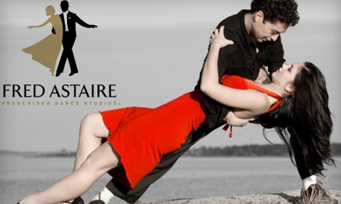 Fred Astaire Dance Studio - East Central: $29 for a Ballroom Dance Class, Group Lesson, and Dance Party at Fred Astaire Dance Studio in Pasadena ($145 Value)