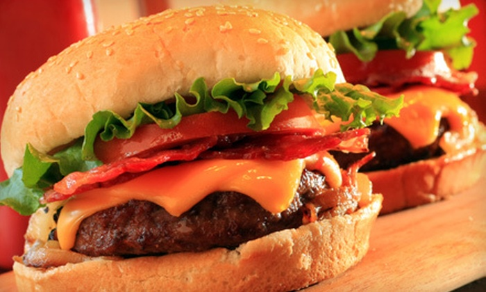 The Original Flame Burger Factory - Phoenix: Combo Meals for Four or $5 for $10 Worth of Burgers and American Fare at The Original Flame Burger Factory in Chandler