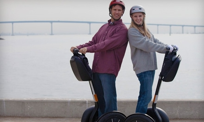 Another Side of San Diego Tours - Horton Plaza: $49 for a San Diego City and Bay Segway Tour from Another Side of San Diego Tours