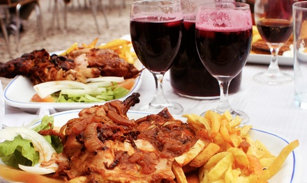 Portuguese Dinner for Two or Four at Sol-Mar Restaurant (Up to 45% Off)