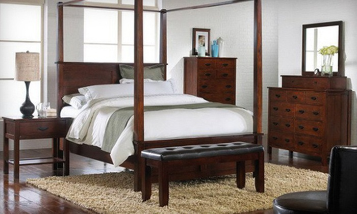 Northeast Furniture Direct - Stoughton: Furniture and Mattress Sets at Northeast Furniture Direct (Up to 67% Off). Two Options Available.