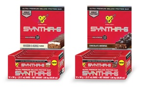 BSN Syntha-6 Protein Bars; 12-Bar Pack