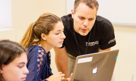 $1,132.50 for a Create a Minecraft Map Camp for Ages 12–17 from Digital Media Academy ($2,265 Value)