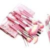 Babylicious Pink Heart 24-Piece Makeup Brush Set
