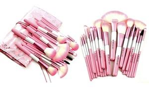Babylicious Pink Heart 24-Piece Makeup Brush Set at Babylicious Pink Heart 24-Piece Makeup Brush Set, plus 9.0% Cash Back from Ebates.