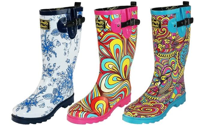 Buffy Boots Women's Rain Boots | Groupon Goods