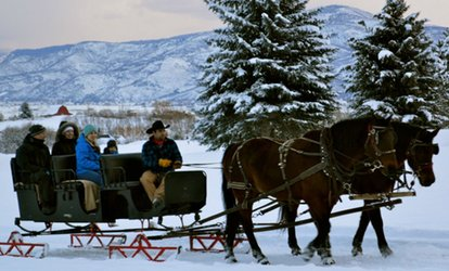 image for Santa Sleigh Ride for One, Two, or Four at Soldier Hollow (Up to 31% Off)