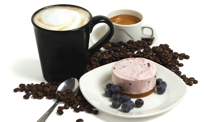 """Double D's Cheesecake and Coffee House - St. Vital Centre: One 9"""" Cheesecake or C$12 for C$20 Worth of Café Food at Double D's Cheesecake and Coffee House"""