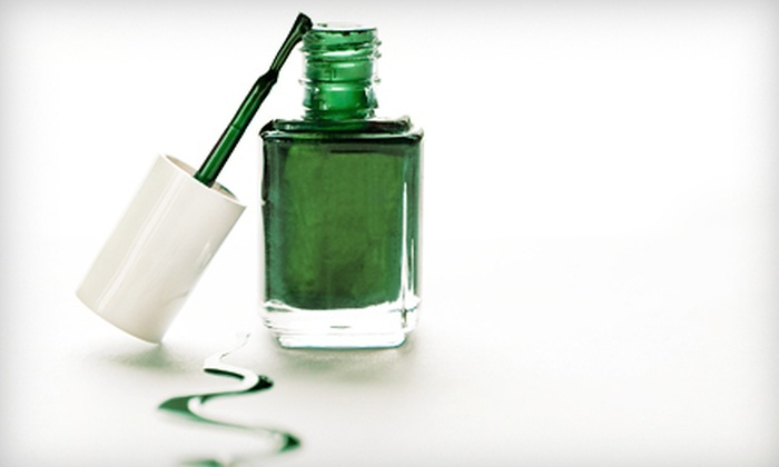 Green Beauty Creation - San Jose: One or Three Basic Mani-Pedis at Green Beauty Creation (Up to 59% Off)