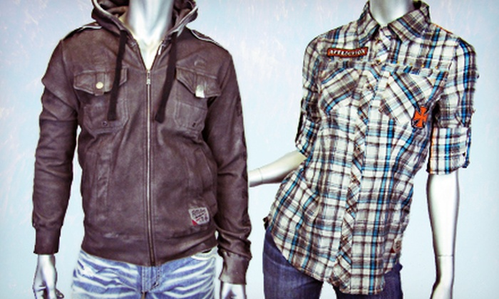 EDGE Apparel - Wauwatosa: Trendy Apparel and Accessories for Men and Women at EDGE Apparel (Half Off). Two Options Available.