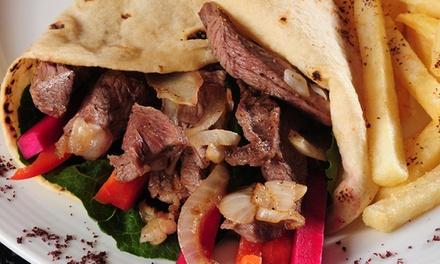 ביירות, מסעדה לבנונית אותנטית בראשון לציון: רק 19 ₪ ליחיד או 36 ₪ לזוג למנת שיפוד לבחירה בלאפה או בפיתה  + לימונדה!