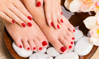 image for Gel Polish Manicure, Pedicure or Both at Images By Sally (Up to 54% Off)