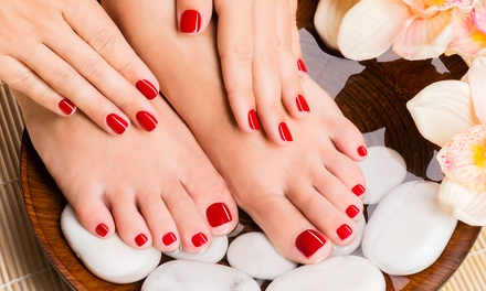 Gel Polish Manicure, Pedicure or Both at Images By Sally