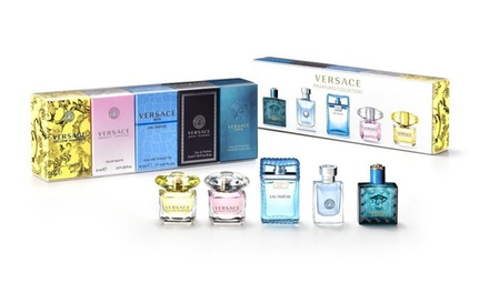 Versace 5-Piece Mini Set with Fragrances for Men and Women