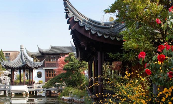 Lan Su Chinese Garden - Old Town Chinatown: Admission for Two or Four to Lan Su Chinese Garden (Up to 50% Off)