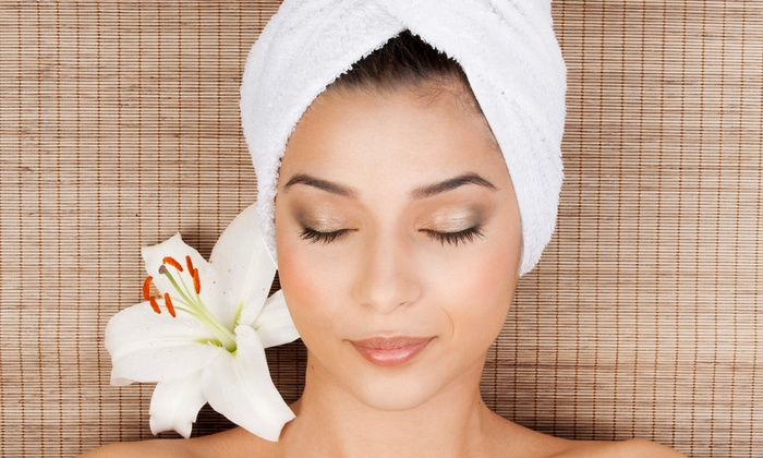Brazilian Beauty by Lucy - Merritt Island: Mani-Pedi Package with Vitamin C Facial or Three or Six Vitamin C Facials at Brazilian Beauty by Lucy (Half Off)