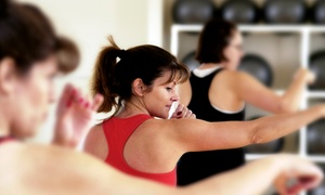 FIT USA Fitness: One Month of Unlimited Senior or All-Ages Group Fitness Classes for One or Two at Fit USA Fitness (Up to 62% Off)