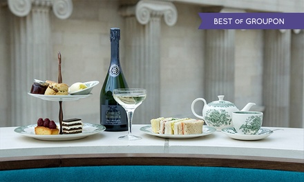 Afternoon Tea for One or Two The Great Court Restaurant, British Museum (Up to 32% Off)