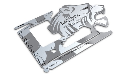 MOTA 18-in-1 Wallet Ultimate Multitool