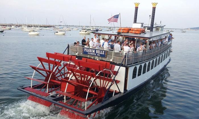 Pilgrim Belle Cruises - Mayflower II State Pier: $26 for  75-Min Plymouth Harbor Sightseeing Cruise for 2 from Pilgrim Belle Cruises (Up to $38 Value)