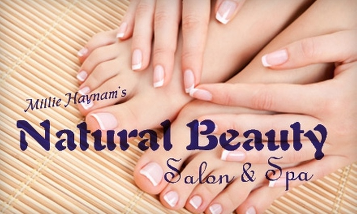 Natural Beauty Salon & Spa - Hudson: $30 for a Spa Manicure and Pedicure at Natural Beauty Salon & Spa ($78 Value)