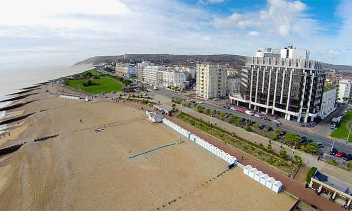 The View Hotel Eastbourne - Eastbourne: East Sussex: 1 or 2 Nights for Two with Breakfast and Option for Wine at The View Hotel Eastbourne