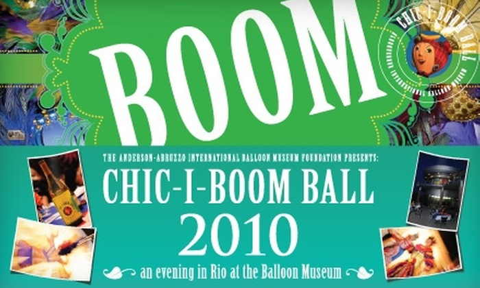 Albuquerque Balloon Museum Foundation - Wildflower Area: $99 for Two Tickets to the Chic-I-Boom Ball on October 9 at the International Balloon Museum ($200 Value)