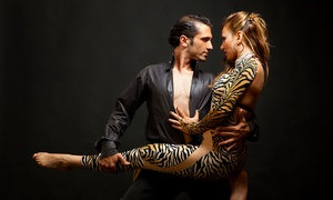 DF Dance Studio: Western, Ballroom, Salsa, or Latin Group Dance Class for Two or Four at DF Dance Studio (Up to 52% Off)