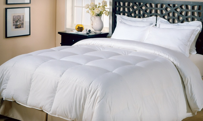 All Seasons Down Alternative Comforter: $35 for an All Seasons Down Alternative Comforter ($79.99 List Price). Three Sizes Available. Free Shipping and Returns.