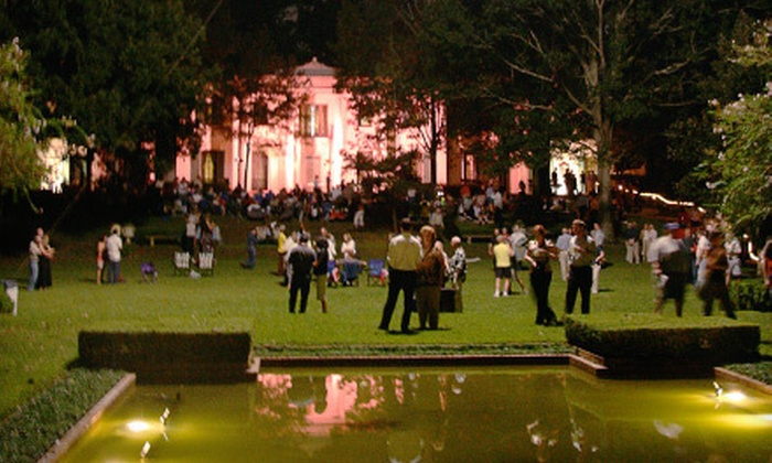 """Opera Under the Stars presenting Opera Vista's  production of """"Houdini the Great"""" - Washington Ave./ Memorial Park: $35 for Opera Under the Stars Performance for Two at Bayou Bend on Saturday, September 22, at 8 p.m. (Up to $70 Value)"""