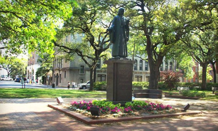 Savannah Belle Tours - Downtown Savannah: $35 for a Private, Custom Walking Tour for Two from Savannah Belle Tours ($70 Value)