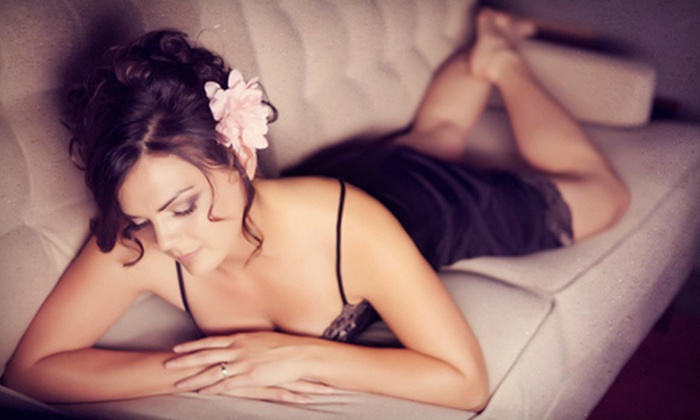 ultra-spective's Haute Pink - Livermore-Pleasanton: Boudoir-Photo Package with Fine-Art Print at Haute Pink in Livermore. (Up to 84% Off). Two Options Available.