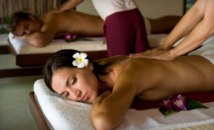 60-Minute Couples-Massage Session with Aromatherapy (a $150 value) - Nu View of U in Westminster