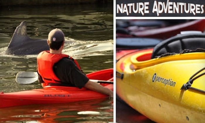 Nature Adventures Outfitters - Mount Pleasant: $19 for a Two-Hour Guided Kayak Tour (Up to $39 Value) or $20 for a Full-Day Single Kayak Rental ($45 Value) from Nature Adventures Outfitters