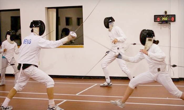Penta Fencing Club - Wilmington: $29 for Four Classes at Penta Fencing Club in Wilmington ($100 Value)