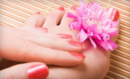 80-Minute Essential Manicure and Pedicure (a $75 value) - EuroSpa of Naples in Naples