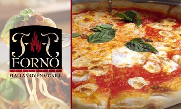 Forno Italian Oven & Grill - Broadlands: $10 for $25 Worth of Italian Fare and Drinks at Forno Italian Oven & Grill
