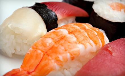 $20 Groupon to Nhinja Sushi & Wok - Nhinja Sushi & Wok in Oklahoma City