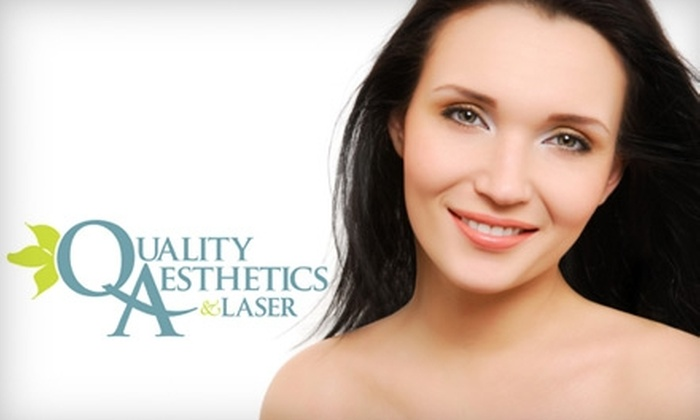 Quality Aesthetics - Ward 6: $79 for One Skin-Tightening Treatment at Quality Aesthetics (Up to $275 Value)