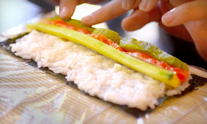 The Stocked Pot & Company Cooking School - Winston-Salem: Sushi-Making or Knife-Skills Class at The Stocked Pot & Company Cooking School in Winston-Salem (Half Off)